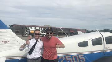 The Power Trip - Meatsauce Goes to Flight School with Thunderbird Aviation | KFAN 100.3 FM