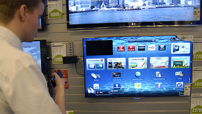 Smart TV brand fromLG and Samsung