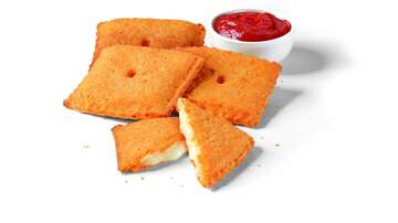 Entertainment News - You Can Get Stuffed Cheez-It Pizza Pockets At Pizza Hut Now