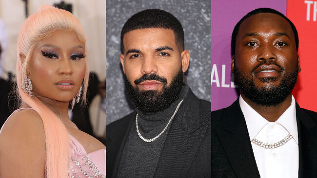 Nicki Minaj Allegedly Sparked Drake & Meek Mill's Beef With One Comment