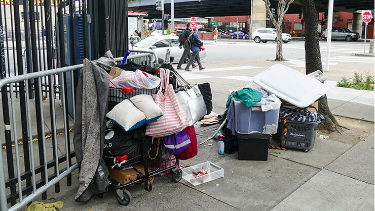 Growing homelessness in the San Francisco region