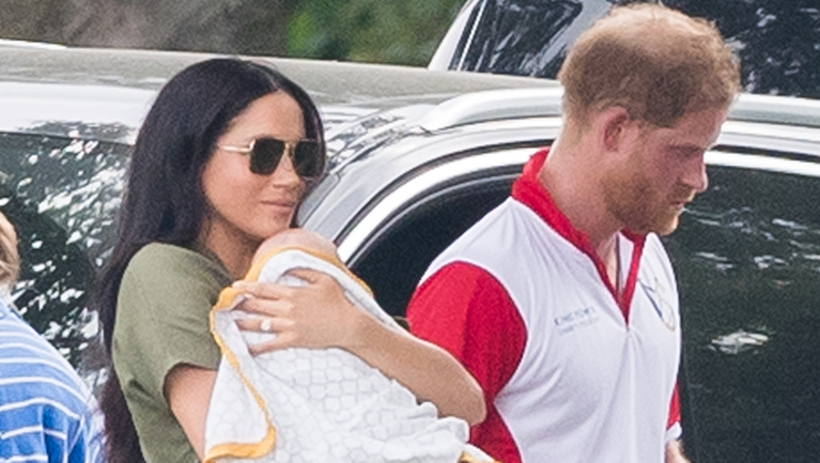 These Pics Of Prince Harry, Meghan Markle & Archie At Local Pub Are So Cute | iHeartRadio