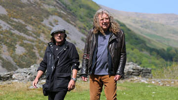 Jim Kerr Rock & Roll Morning Show - Watch Robert Plant Recall Led Zeppelin's Rise To AC/DC's Brian Johnson