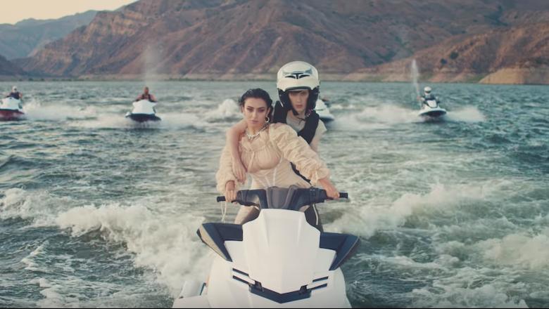 Charli XCX And Troye Sivan Do Jet Ski Tricks In '2099' Video: Watch