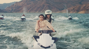 Trending - Charli XCX And Troye Sivan Do Jet Ski Tricks In '2099' Video: Watch