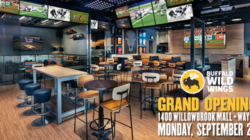 None - Join Us At The Grand Opening Of Buffalo Wild Wings In Willowbrook