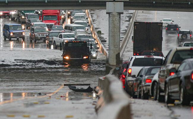 Tropical Storm Imelda Brings Heavy Flooding To Houston Area