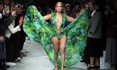 Entertainment News - Jennifer Lopez Rocks Iconic Green Versace Dress 19 Years Later