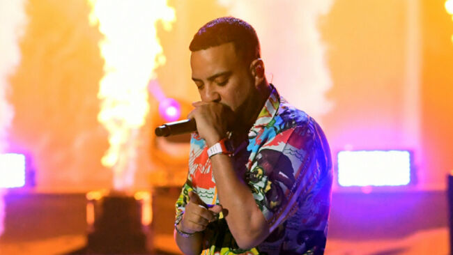 French Montana Turns The Heat Up At iHeartRadio Music Festival