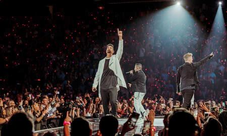 Trending - Backstreet Boys Reflect on their 'Renaissance' During iHeart Festival Set