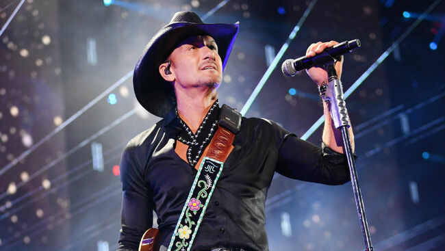 Tim McGraw Honors The Cars Frontman Ric Ocasek At iHeartRadio Music Fest