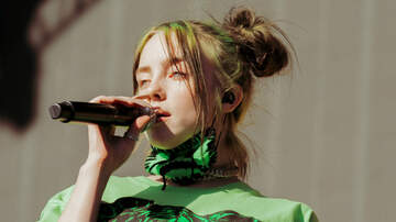 None - Billie Eilish Commands iHeartRadio Daytime Stage Despite Sprained Ankle