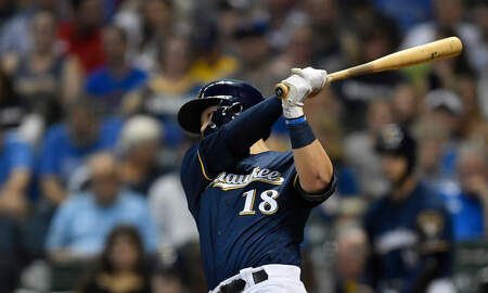 Brewers - Brewers clobber Pirates 10-1 Saturday; magic number is 5