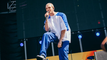None - Lauv Brings High Energy Performance To The iHeartRadio Daytime Stage