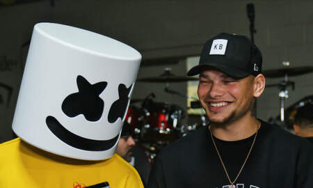 Trending - Marshmello & Kane Brown Brought Bromance To 2019 iHeartRadio Music Festival