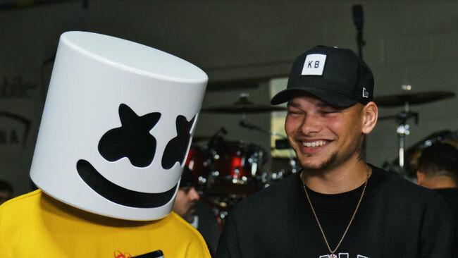 Marshmello & Kane Brown Brought Bromance To 2019 iHeartRadio Music Festival