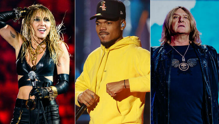 2019 iHeartRadio Music Fest Night 2: Miley Cyrus, Chance The Rapper & More   iHeartRadio
