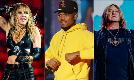 Trending - 2019 iHeartRadio Music Fest Night 2: Miley Cyrus, Chance The Rapper & More