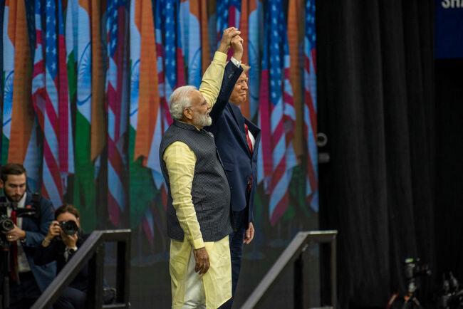 Trump, Modi Meet And Speak In Huge Rally In Houston
