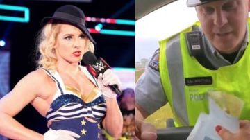 Chuck Dizzle - WWE's Lacy Evans Gets Upset With Officer For Giving Her A Speeding Ticket