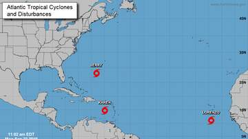 Operation Storm Watch - Tropical Storm Lorenzo Has Formed