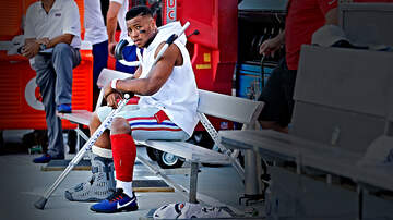 Breaking Sports News - Giants Fear Saquon Barkley Could Miss Two Months With High Ankle Sprain