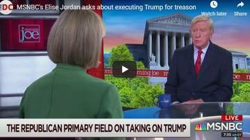 KC O'Dea Show - MSNBC Analyst Explains Why Trump Should Be Executed For Treason?!
