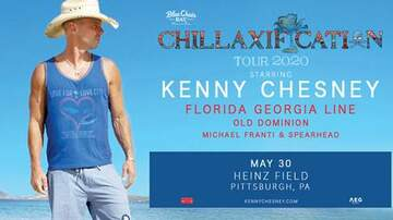None - KENNY CHESNEY - CHILLAXIFICATION 2020 TOUR