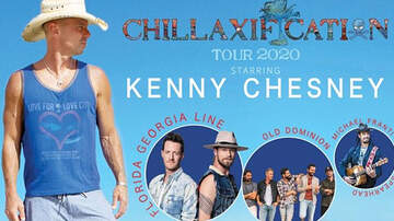 None - Kenny Chesney's Chillaxification Tour - 4/18/20 - AT&T Stadium in Arlington