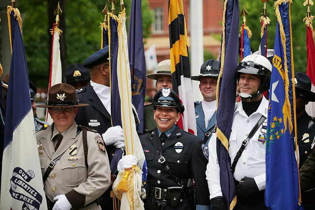 National Law Enforcement Officers Memorial Fund Honor Fallen Officers