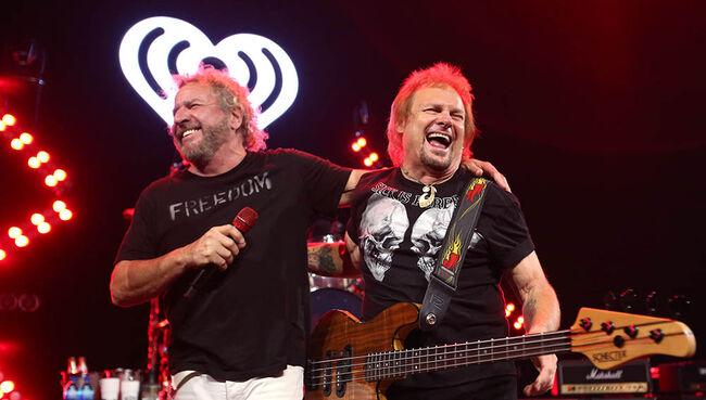 """Sammy Hagar: Van Halen Has Maybe """"One More Shot"""" At Reunion"""
