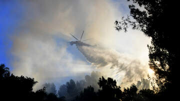 KOGO LOCAL NEWS - Brush Fire Burning In San Diego's East County
