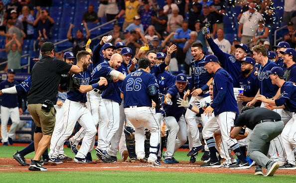 Ji Whiz: Choi's Blast Gives Rays Another Walkoff Win In Extras