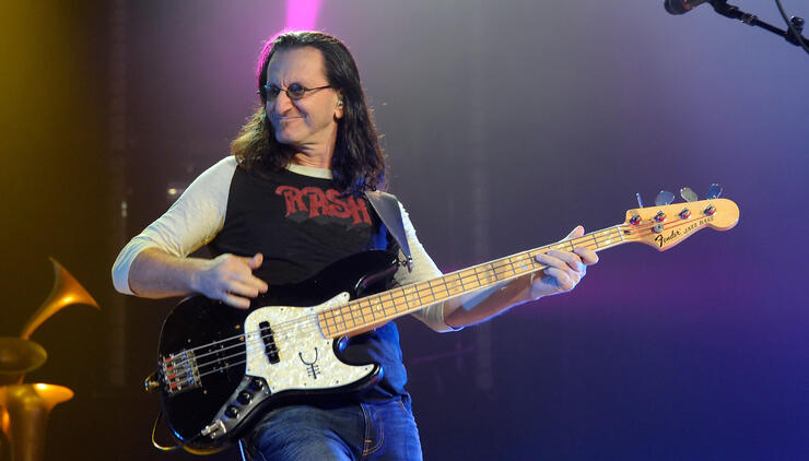 RUSH's Geddy Lee Selling Six Historic Electric Guitars | iHeartRadio