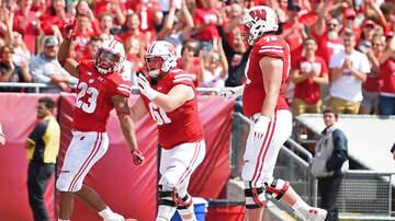 Wisconsin Badgers - Tyler Biadasz talks Wisconsin-Northwestern this Saturday