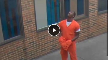 Qui West - Video Shows Drone Dropping Drugs, Cell Phone & Weed Into Prison!