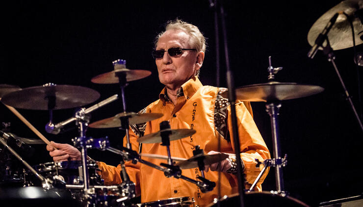 Ginger Baker's Jazz Confusion Perform In Berlin