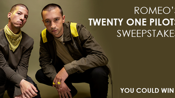Contest Rules - Romeo's Twenty One Pilots Sweepstakes Rules
