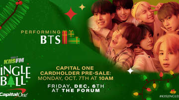 Jingle Ball - BTS To Perform At KIIS FM's Jingle Ball In Los Angeles After Brief Hiatus