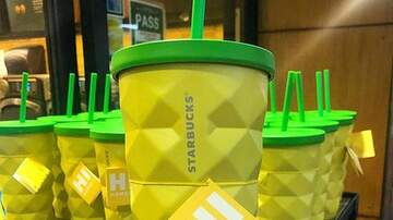 Hilary - Starbucks came out with a pineapple tumbler!