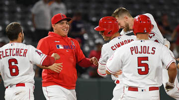 None - Angels Walk Off Astros In Extras