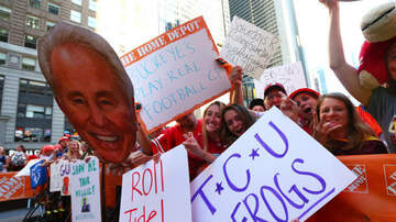 Gary Sadlemyer and KFAB's Morning News - The Guy With the First Sign on ESPN's GameDay Is Back