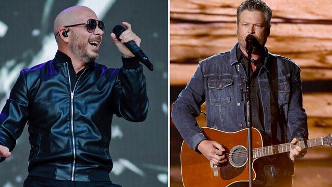 'Get Ready' Blake Shelton + Pitbull Release New Song