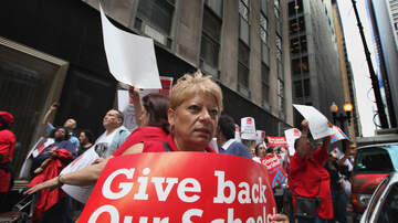 image for Chicago Teachers Union Votes to Strike If No Deal Is Reached