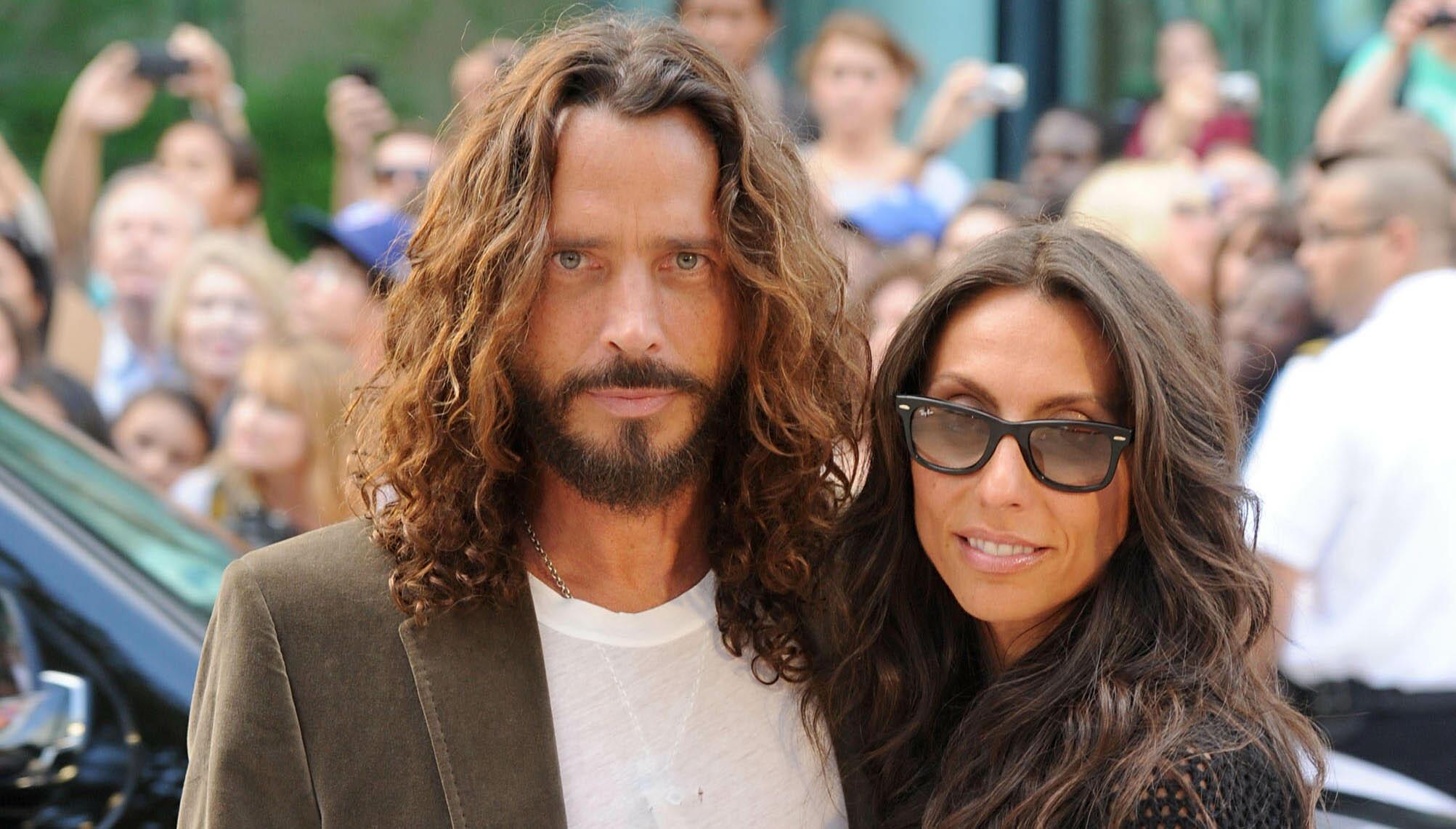 "Vicky Cornell Blasts ""Deranged"" People Behind Fake Chris Cornell Movie"