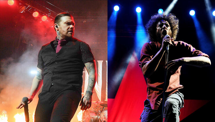 Members Of Shinedown Name The One Band They Would Open For | iHeartRadio