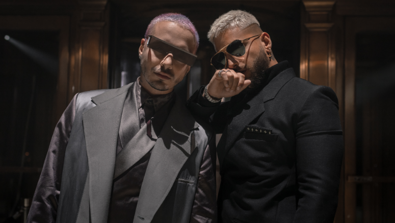 Maluma & J Balvin Serve Grown & Sexy In Their Video For 'Que Pena'