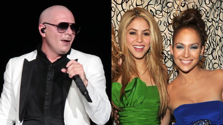 Pitbull Could Join Jennifer Lopez & Shakira's Super Bowl Halftime Show