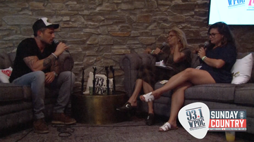 Sunday in the Country - Michael Ray Backstage Interview At Sunday In The Country