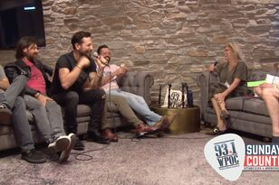 Old Dominion Backstage Interview At Sunday In The Country 2019